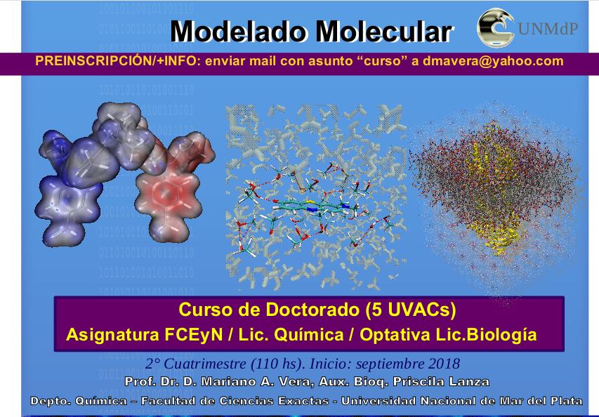 Curso modelado molecular