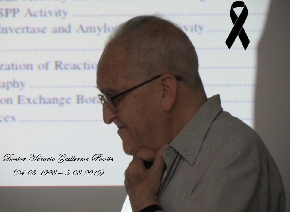 Fallecimiento del Dr. Pontis